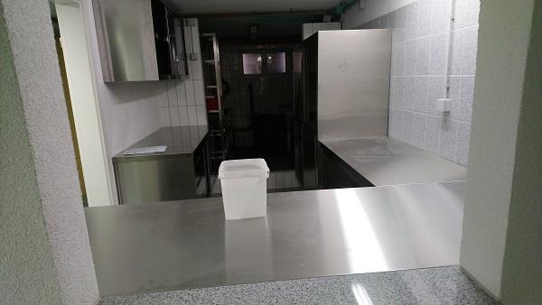 Umbau Keller - Neue Küche